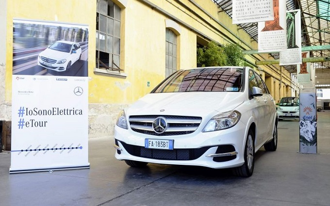 Mercedes Classe B Electric Drive: #IoSonoElettrica tour