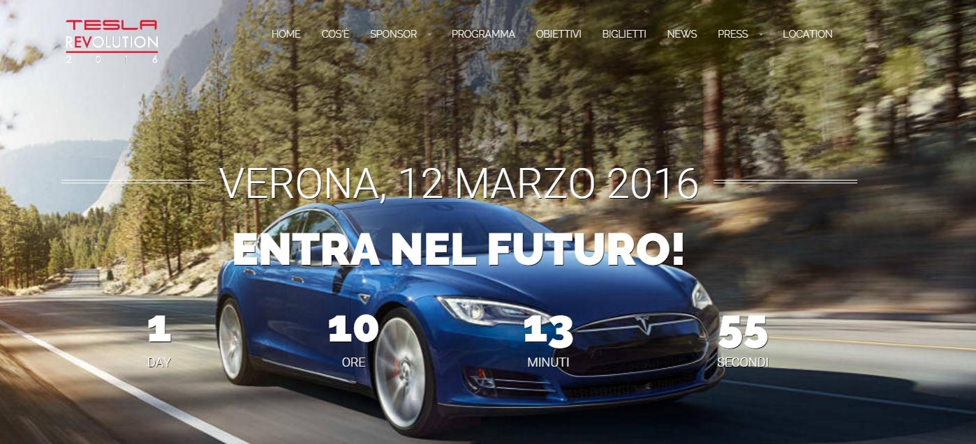 Teslarevolution 2016 a Verona