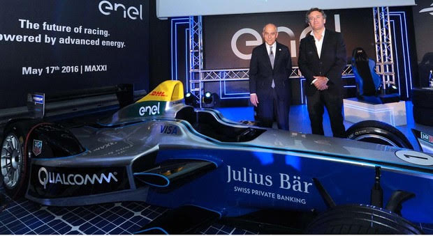 Enel Global Power Partner della Fia Formula E