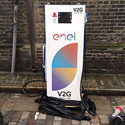 Nissan ed Enel sperimentano il Vehicle to grid nel Regno Unito
