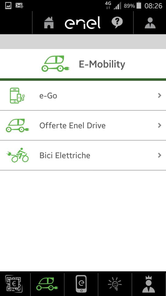 e-Go nuovo servizio E-mobility di Enel Energia