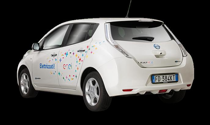 Elettriche Nissan e Mercedes per i dipendenti