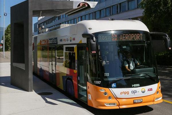 TOSA e-bus di ABB per Ginevra