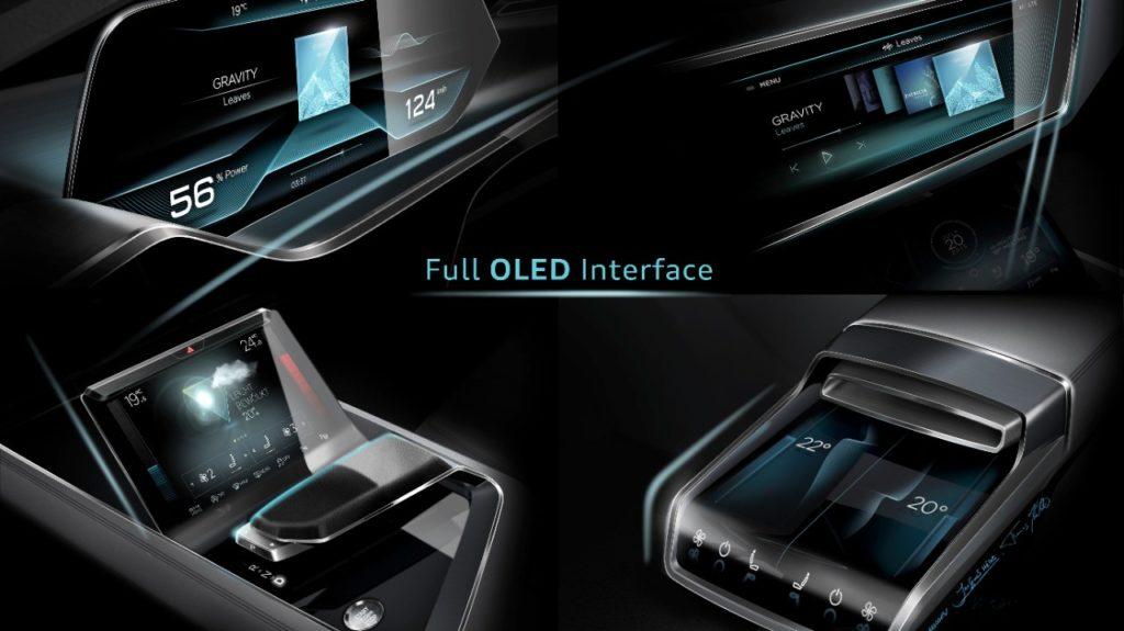 Audi e-tron interni