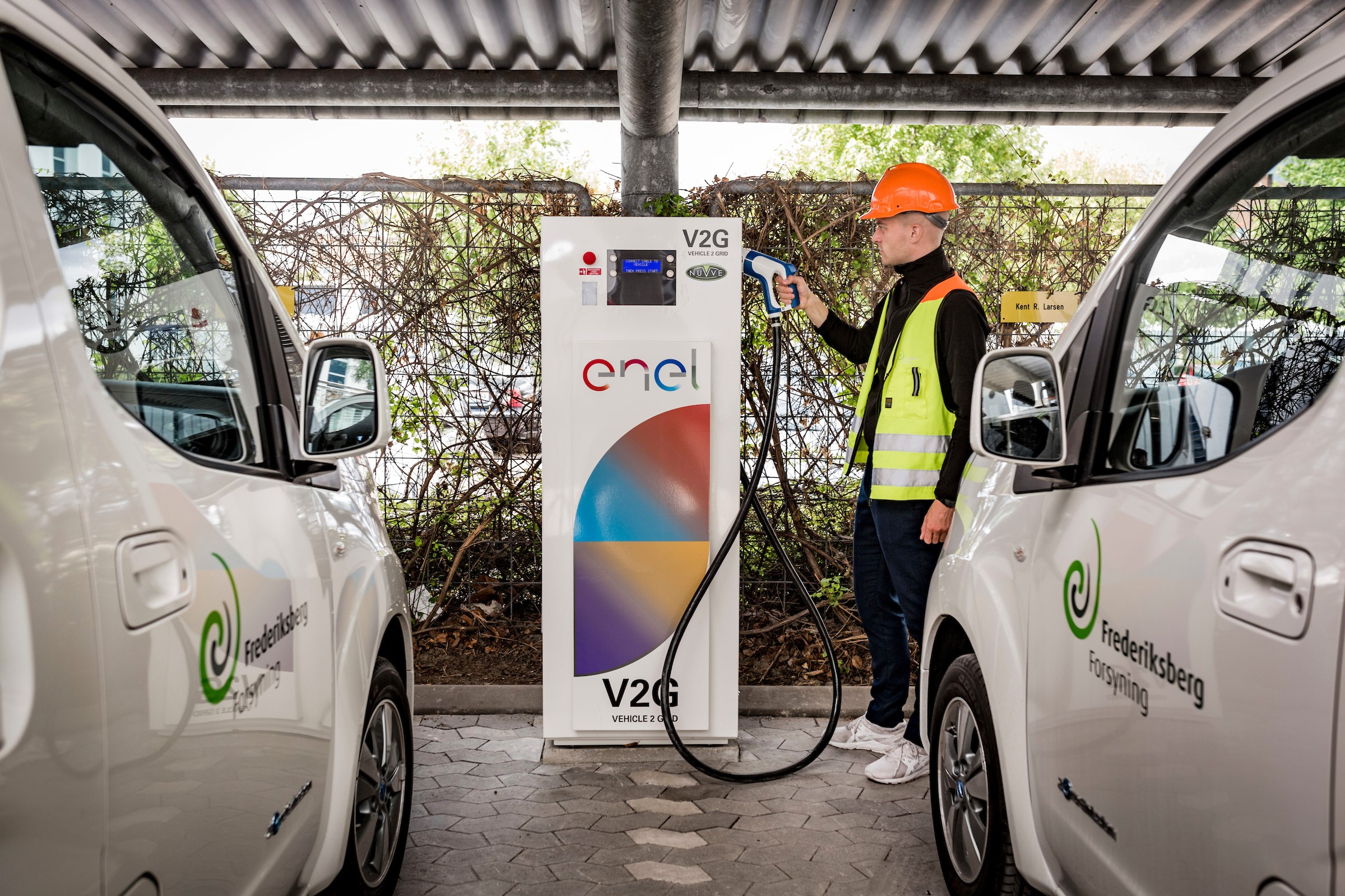Enel e Nissan Vehicle to grid in Danimarca
