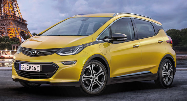 Opel Ampera-e: autonomia a 400 km